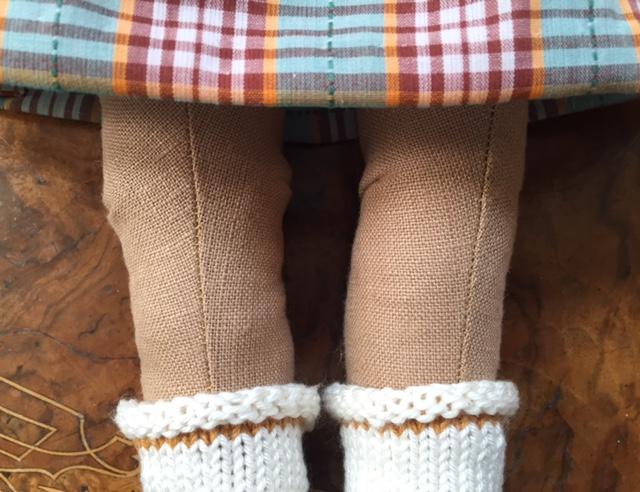 Nini Doll iv socks detail