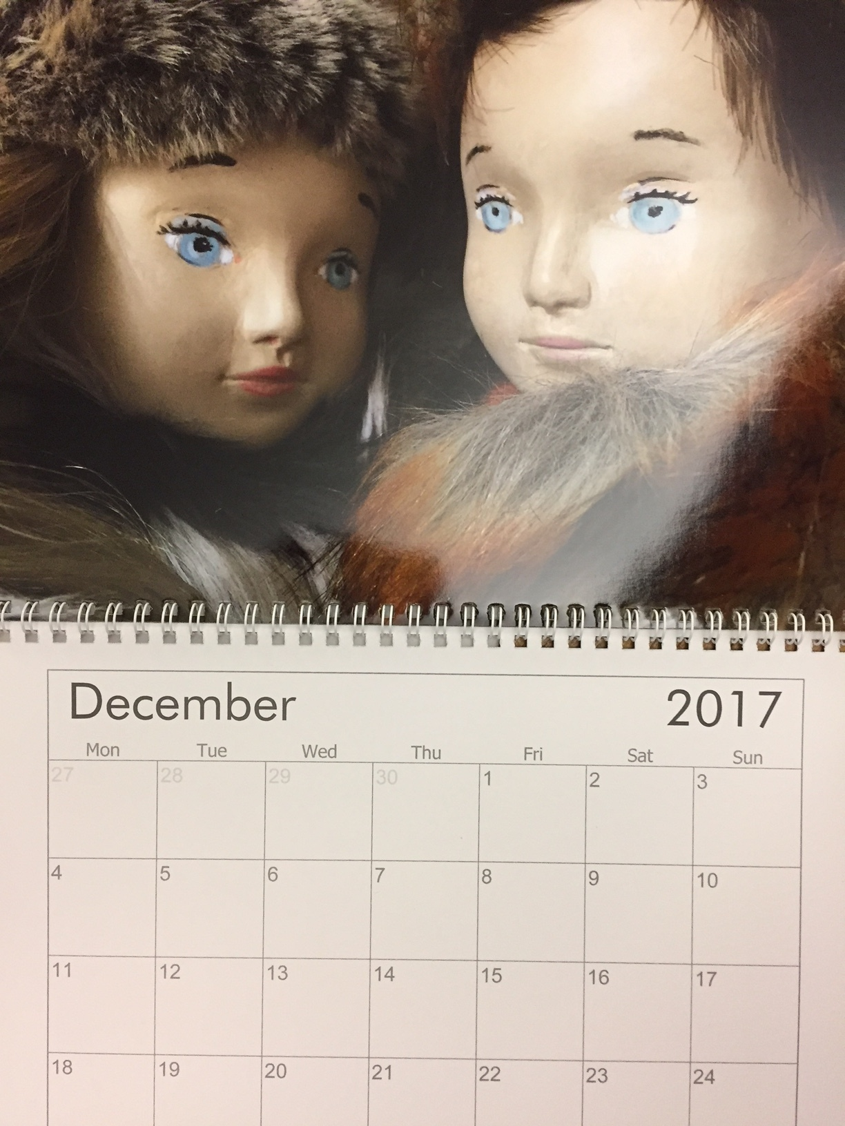 Nini Doll - DCGB calendar feature