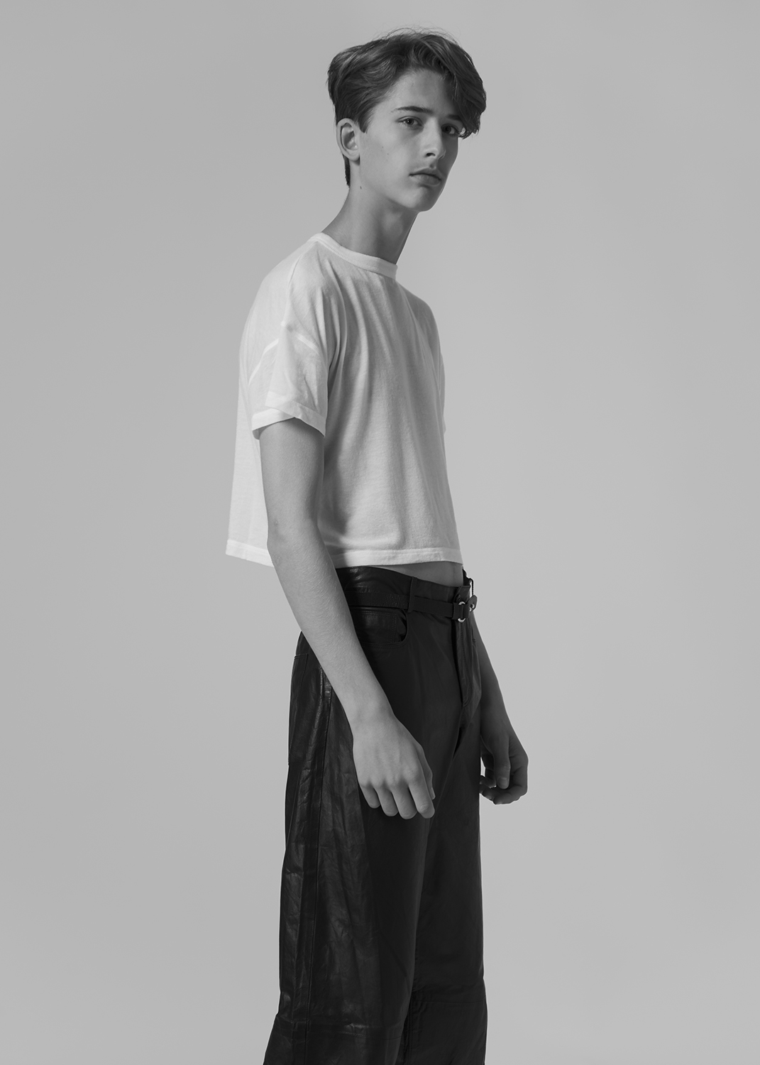 tee by CAN PEP REY / pants by Y/PROJECT