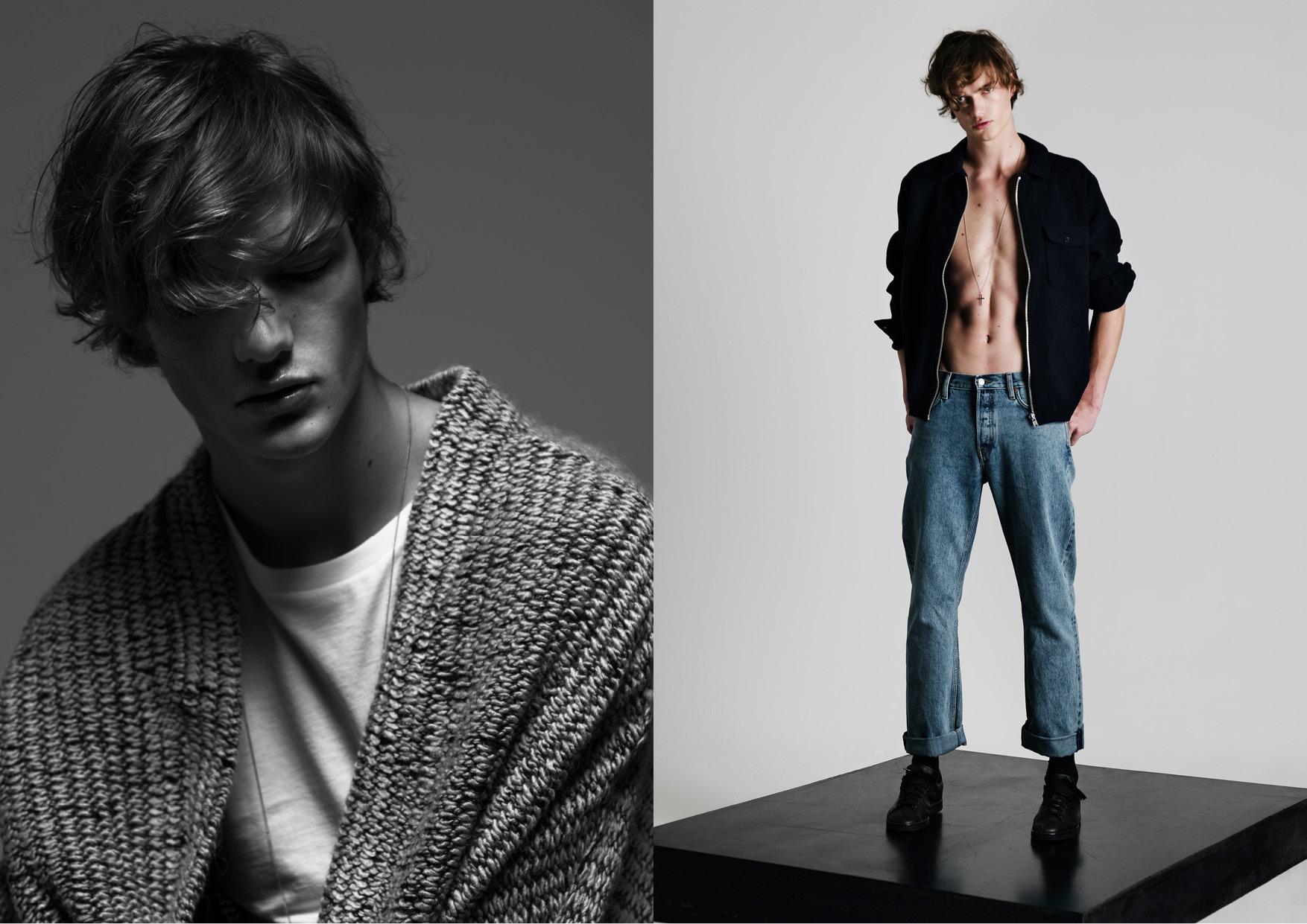 Robbert Coorevits /19Y /Model & Student / Bruges