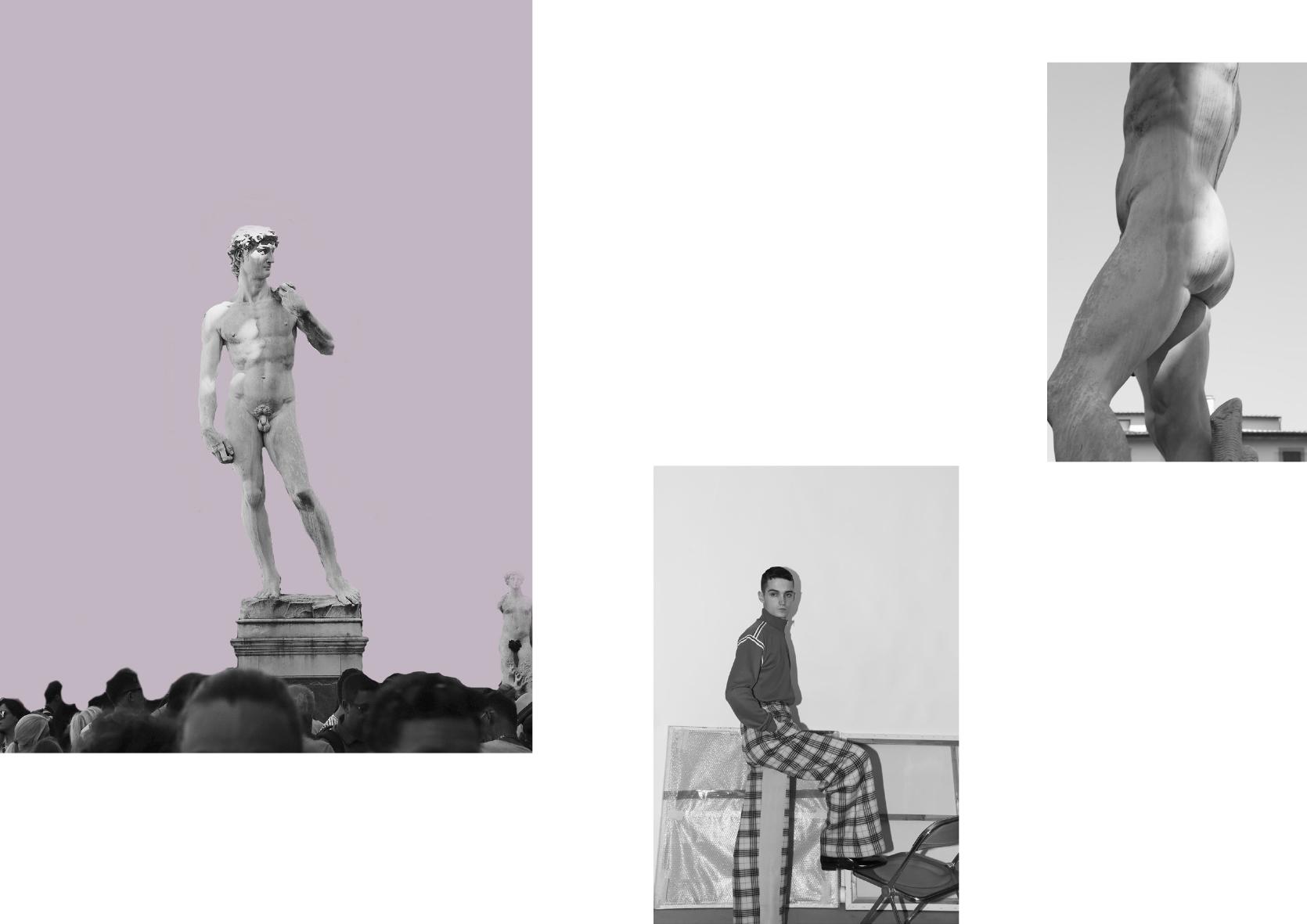 Vest  Maison Margiela , pants  Sirloin  and shoes  Lemaire