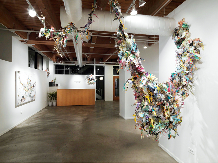 flying through the cuckoo's nest   Installation view / Zg Gallery, Chicago / 2012