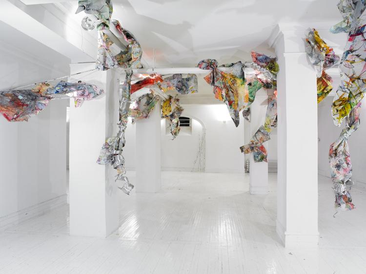 surge   Installation view / Clocktower Gallery, NY / 2011