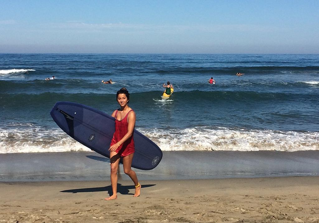 Flere av Amerikas beste longboardsurfere er i Sayulita for å konkurrere og delta på festival.
