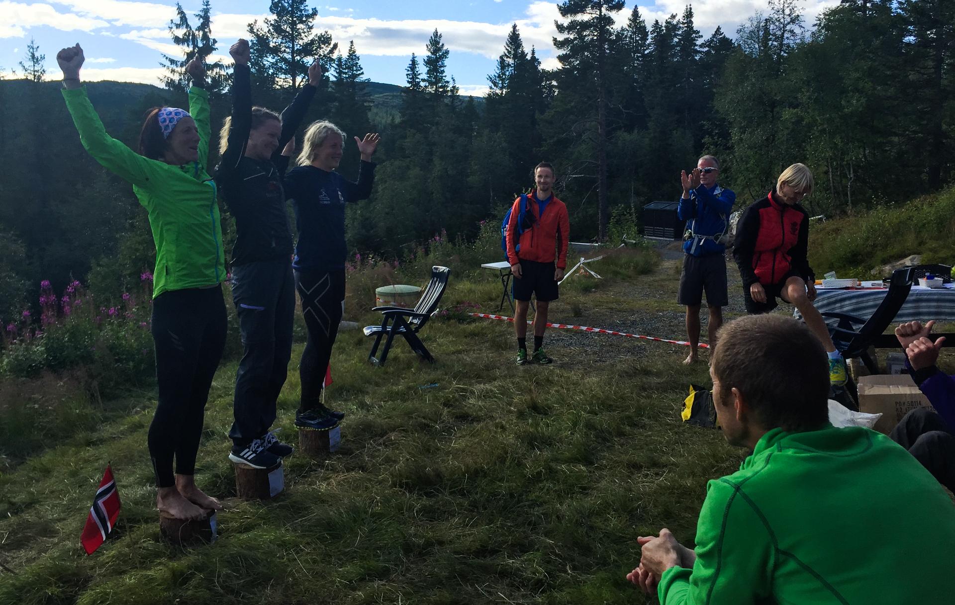 Løpets tre beste kvinner ble Trine Holmer-Hoven (9:27:47),Kristin Bruserud (9:42:07)og Linda Bengtsson (10:00:13).