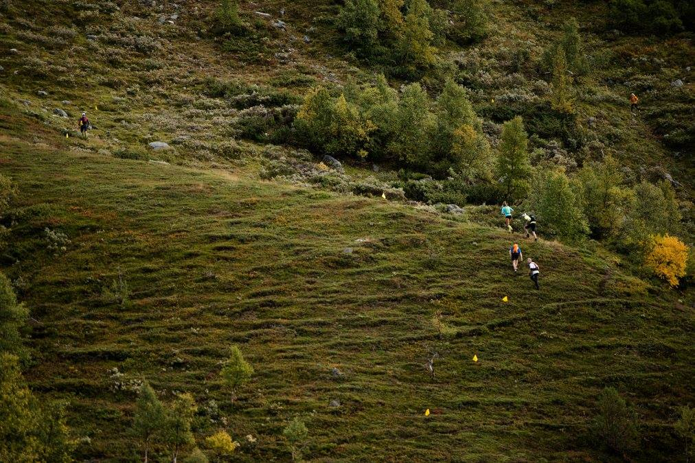 Denne bakken er hard. Foto:  Martin I. Dalen Photography  / Dynafit Trollheimen Fjellmaraton.