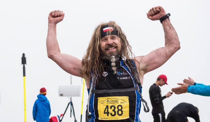 Slik ser en polsk løpeviking ut. Foto: Viking Challenge.