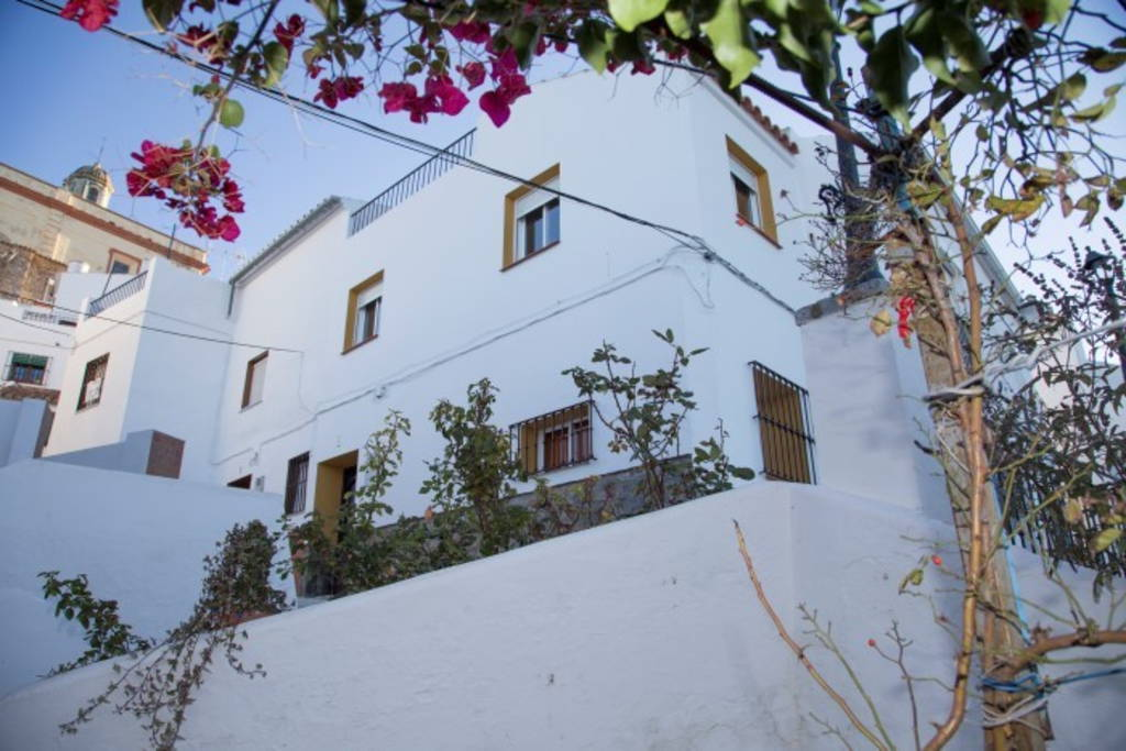 Our rental home in Olvera