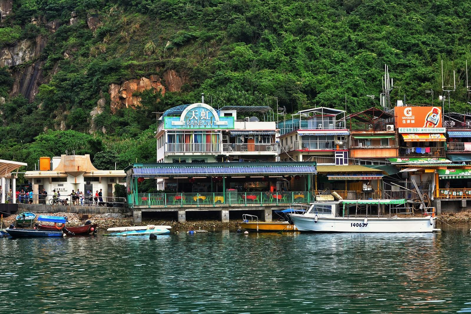 Lamma Island outside Hong Kong