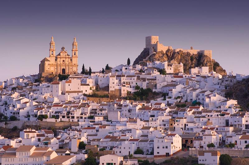 Olvera - white city in Andalucia
