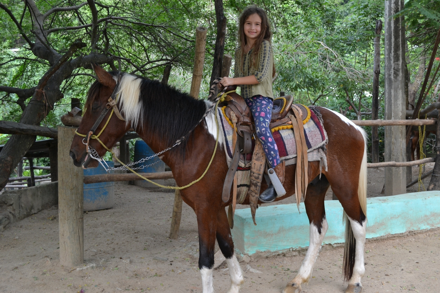 Oh yeah - horseback riding in Mexico!
