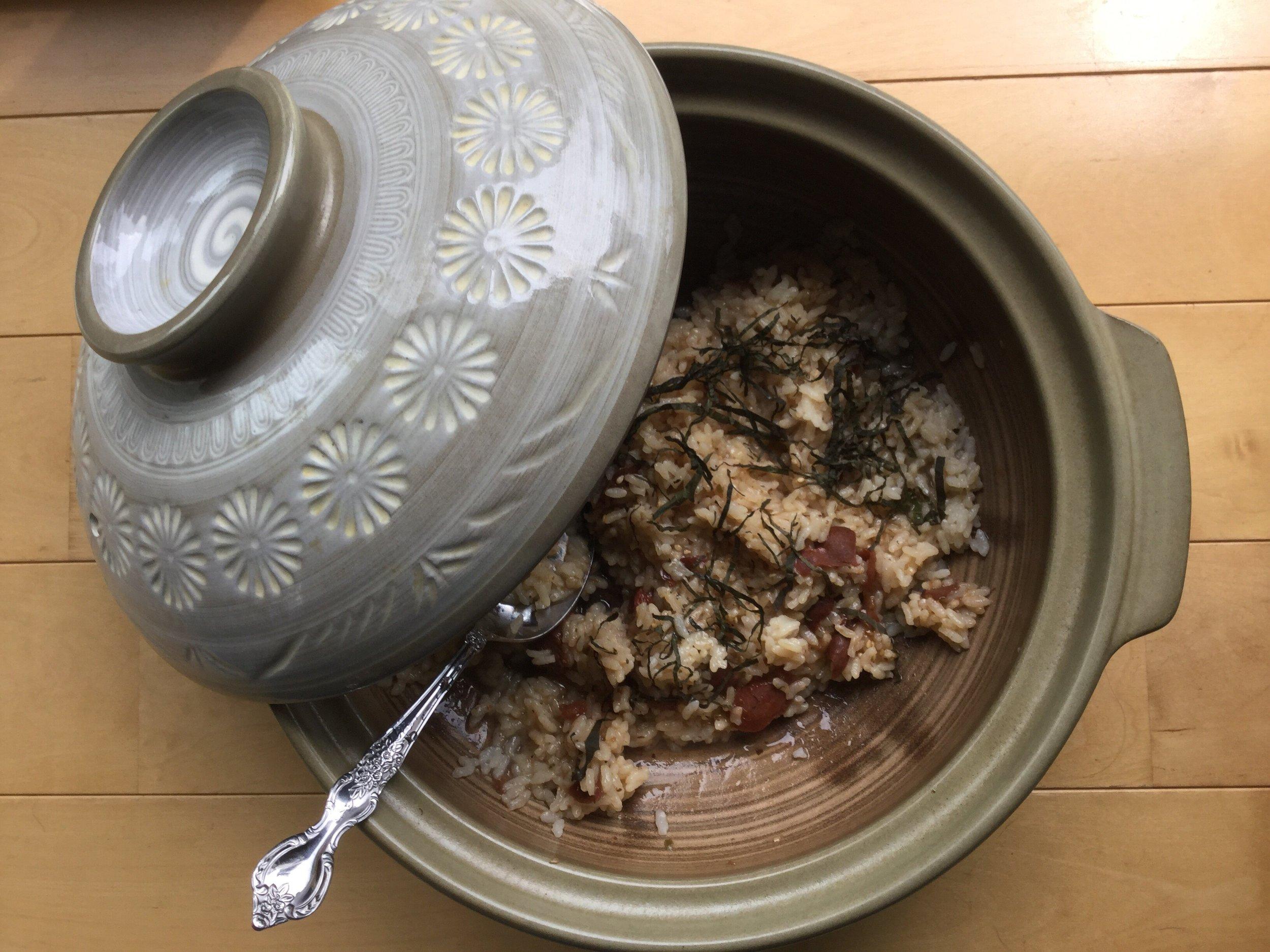 Healing rice - and I am feeling better already!