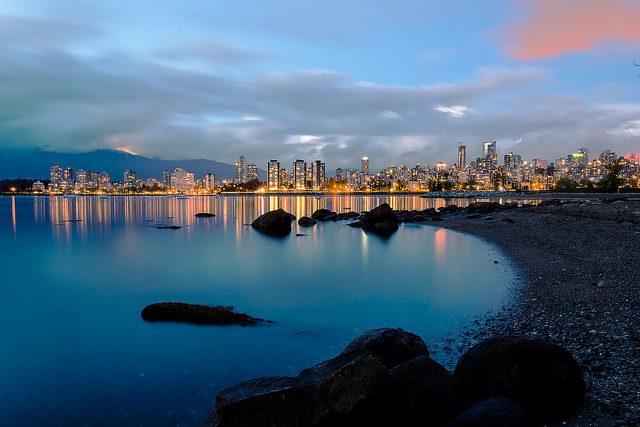 This is from one of the City beaches in Spanish Banks.