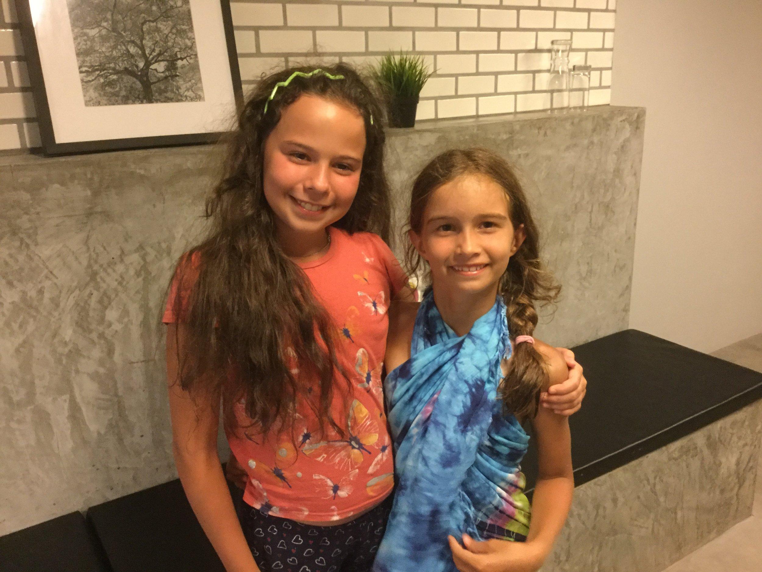Two lovely girls.
