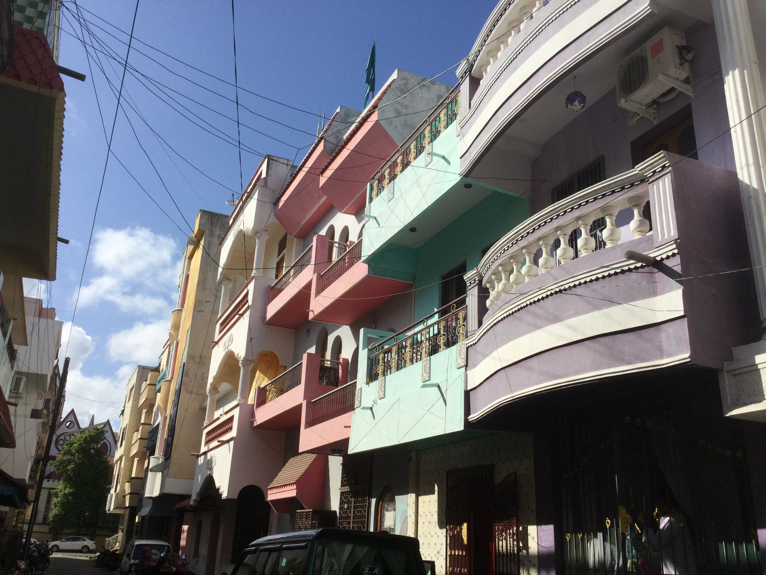 In the Muslim quarter