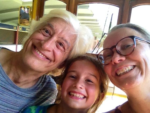 Selfie on the Santa Teresa tram.