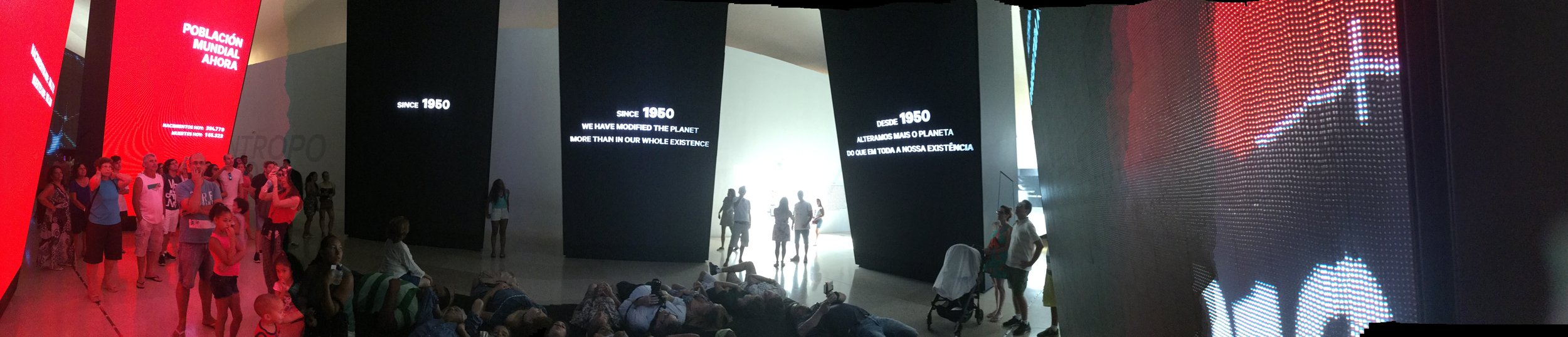 A panorama pic of one of the displays. (No idea how it loads on this blog app. )