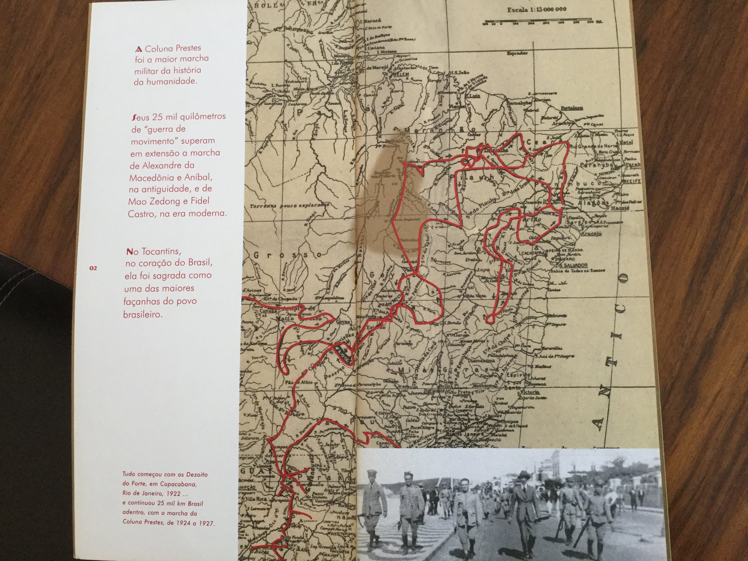 Map of the epic march of 1924 - 1927     - more to come -