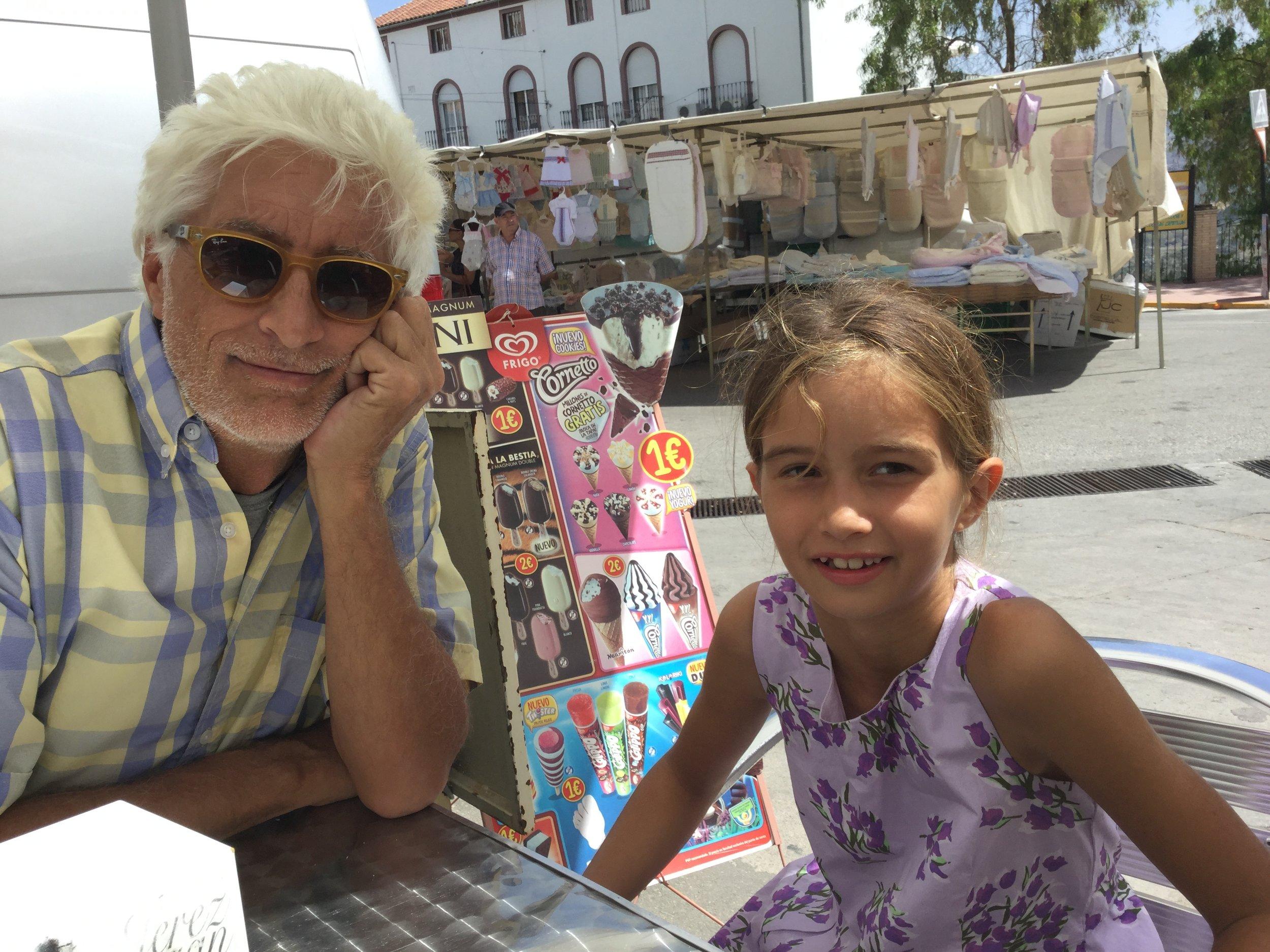 At Cafe Pepe