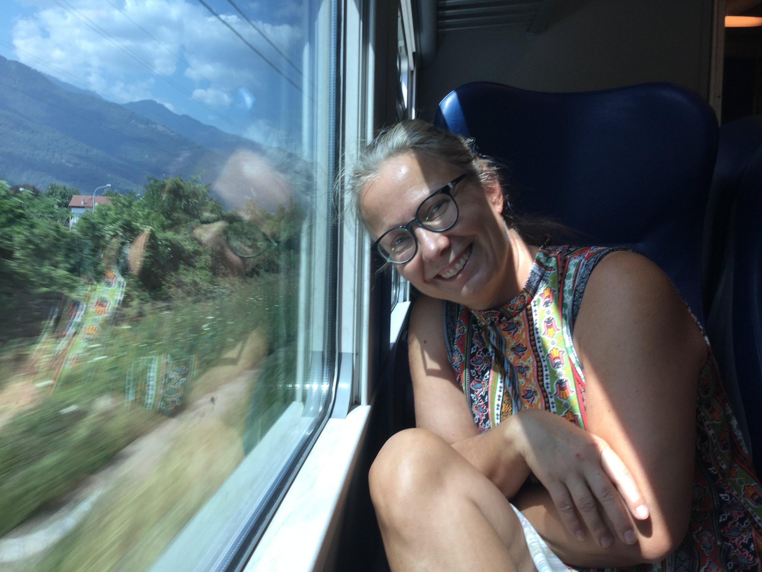 Italian trains are nice.