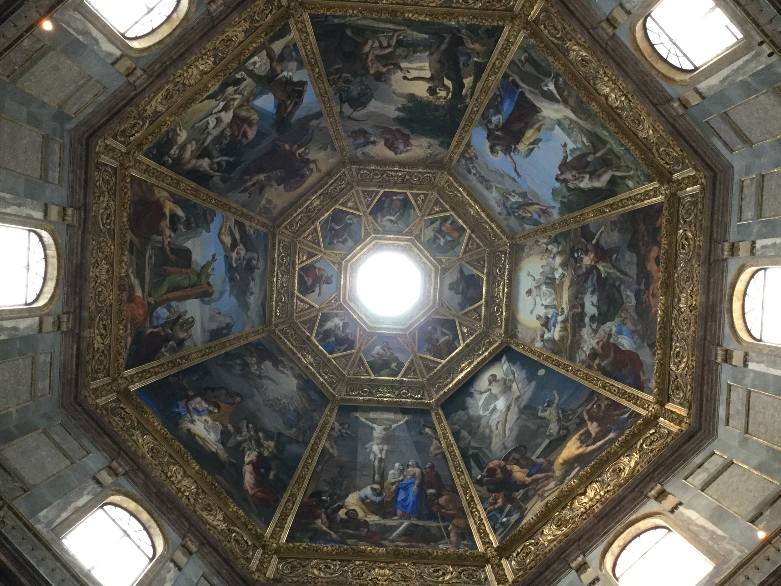 Another dome - the cupola of the Medici Chapel.