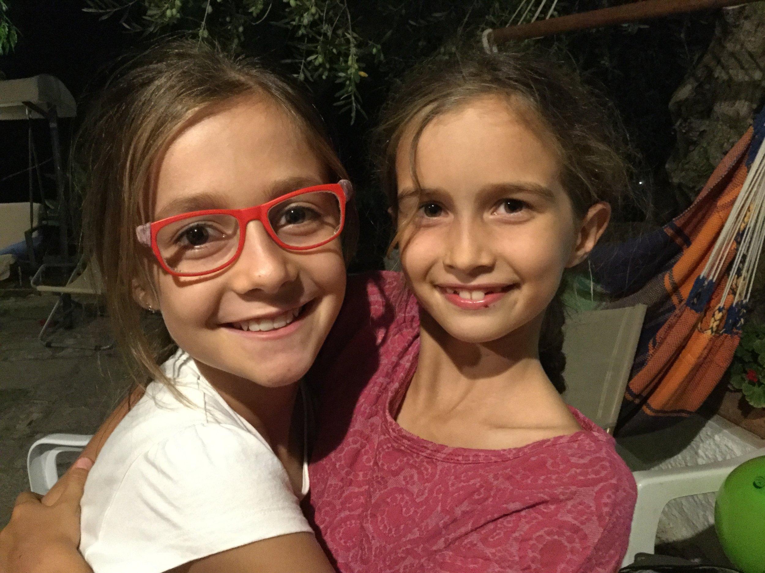 Lili also made a friend in Anila, a neighbor.