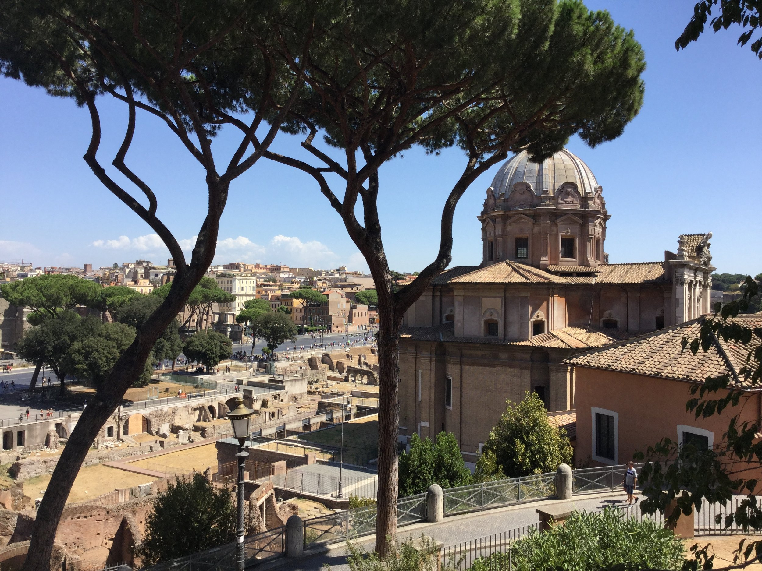 View from Il Campidoglio.