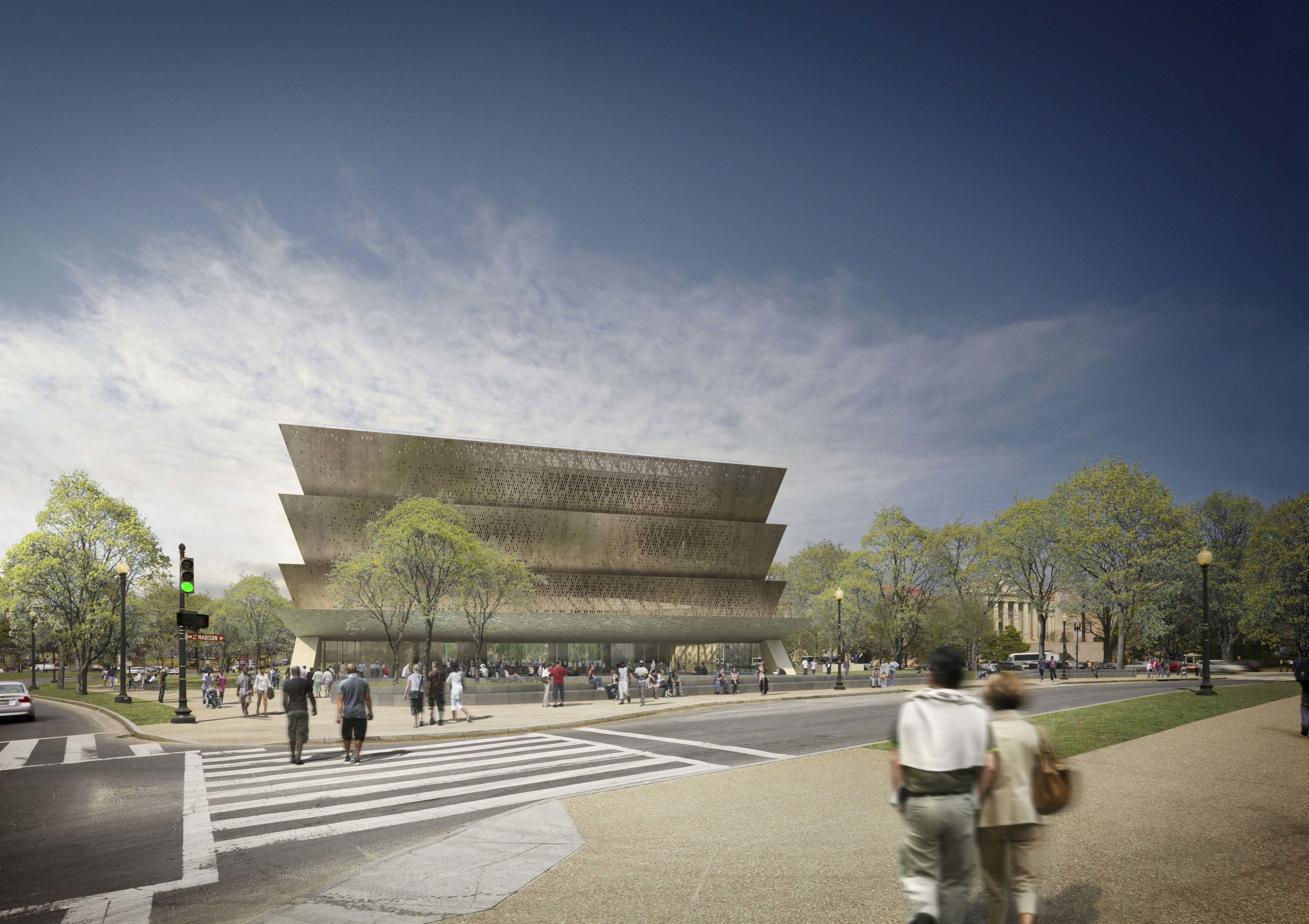 Smithsonian National Museum of African American History and Culture -Adjaye Associates