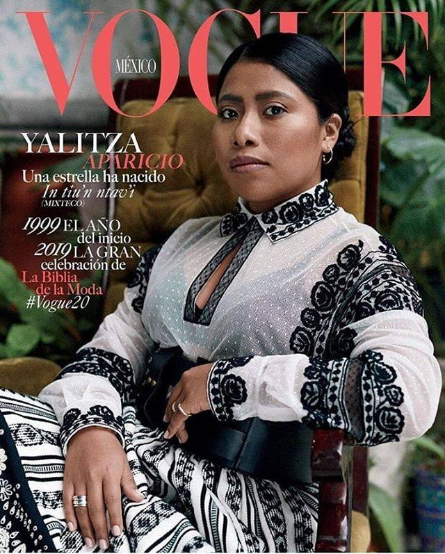 @yalitzaapariciomtz on the cover of @voguemexico 👑! #ARTNOIR #yalitzaaparicio