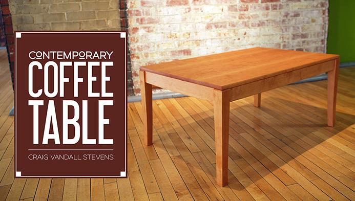 Contemporarycoffee table