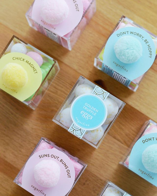 The pretty is only just getting started. 🐰 #loveandbisous #sugarfina #eastertreats #giftdesign #curatedgifts #easteriscoming #smallbiz #fortlauderdale | 📷: @bisoubisoukim