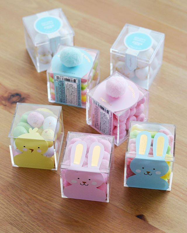 They're every bit delicious as they are pretty. 🐰 #loveandbisous #sugarfina #eastertreats #giftdesign #curatedgifts #easteriscoming #smallbiz #fortlauderdale | 📷: @bisoubisoukim
