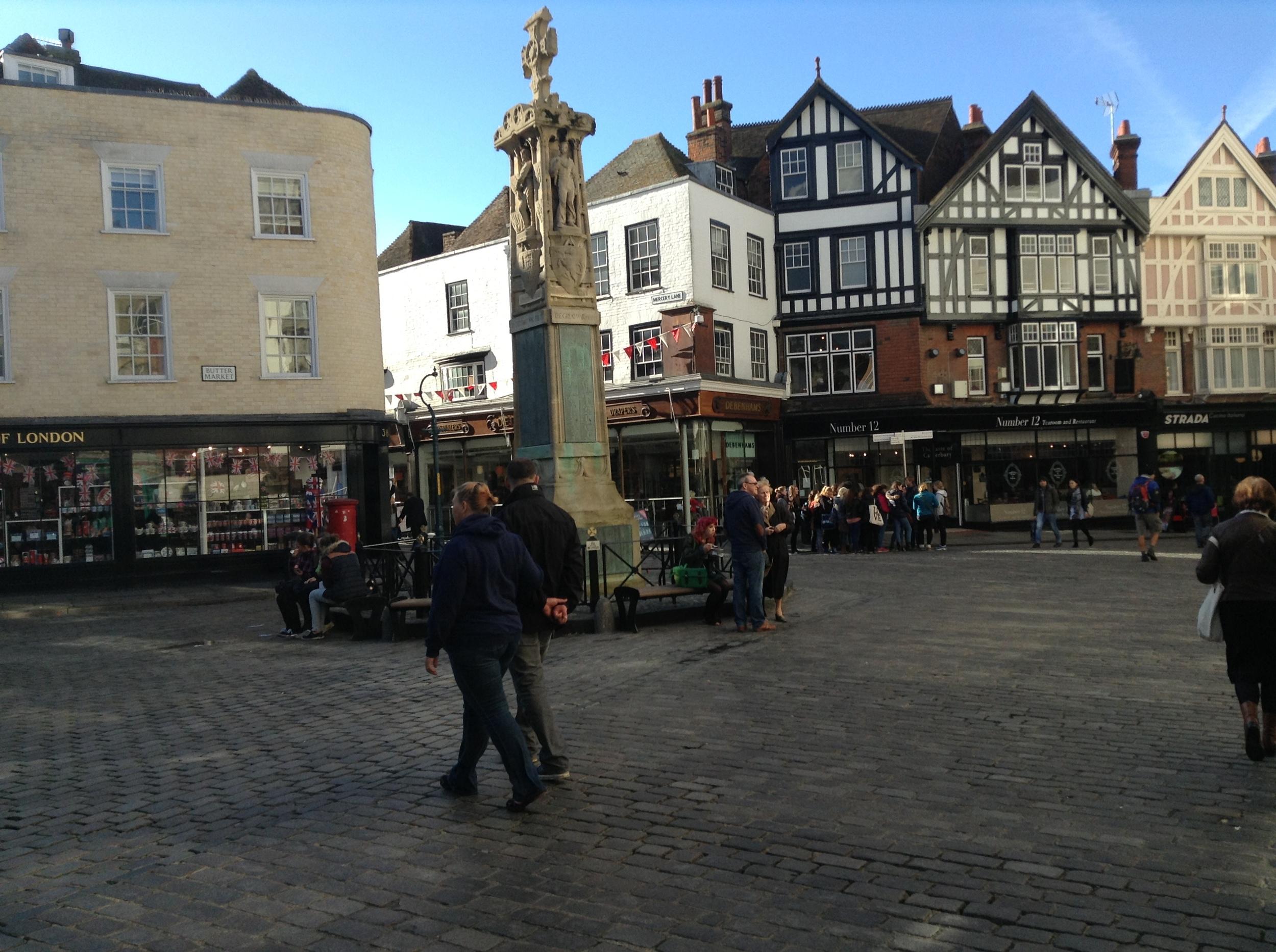 Canterbury historic city centre