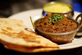 Curry and naan bread? It's all good.