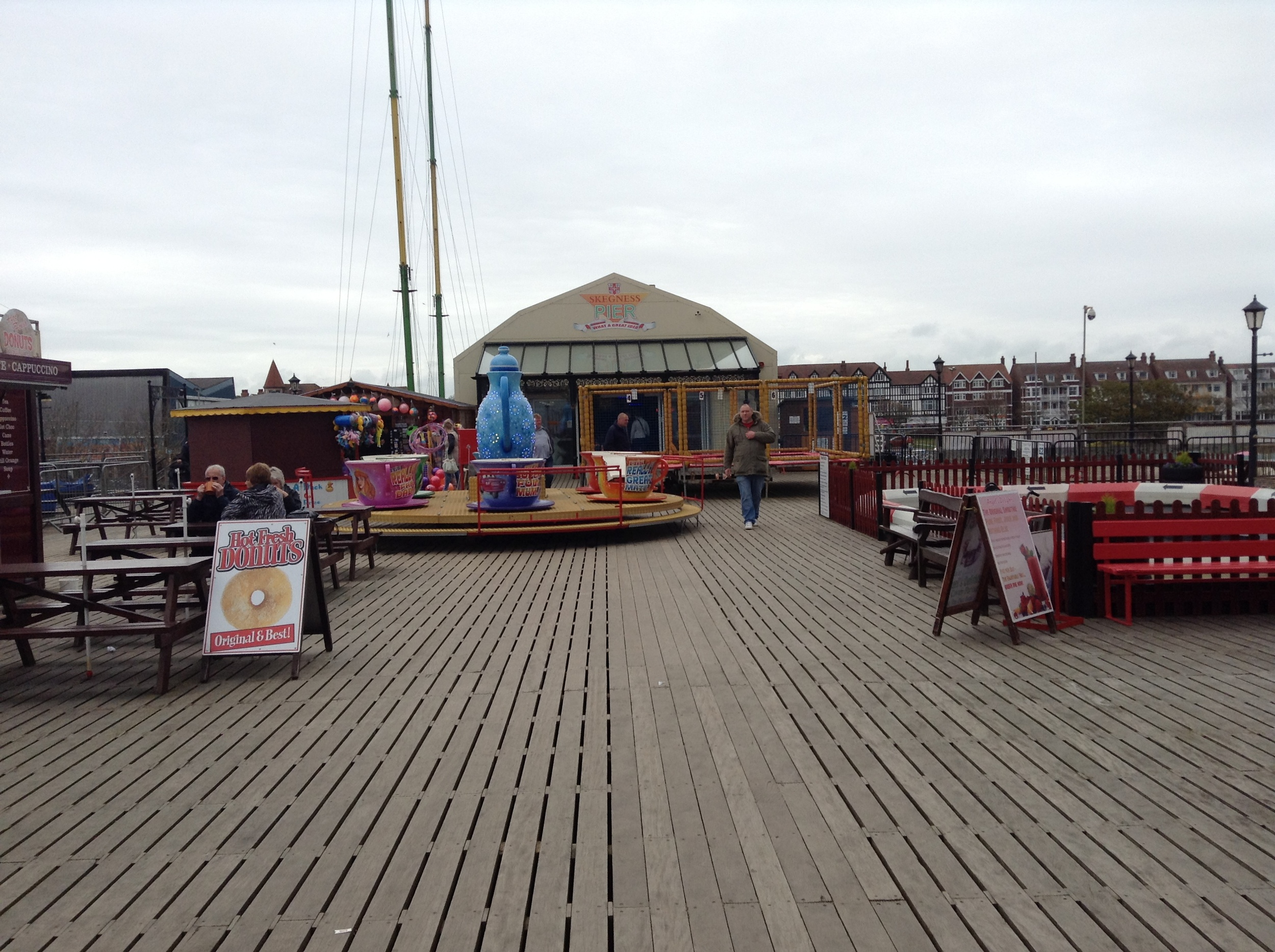 Amusements on Skegness Pier.