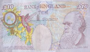 A ten pound note, otherwise known as a 'tenner'.