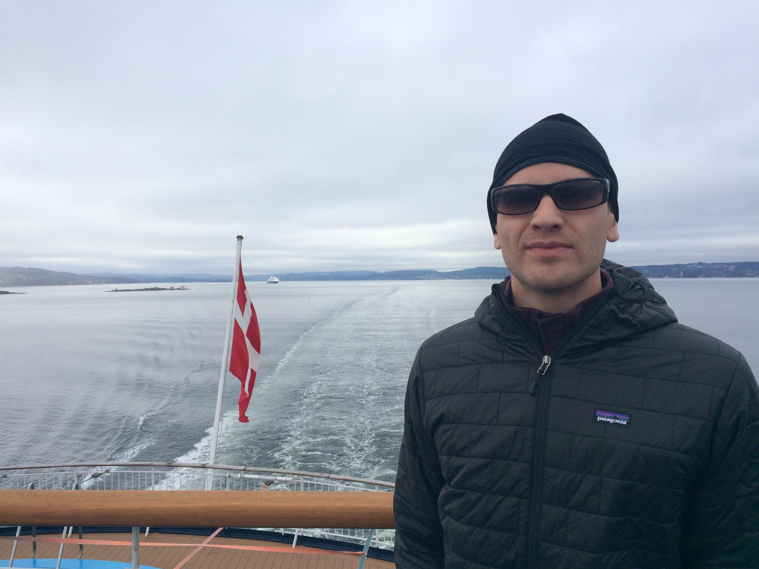 DFDS cruise near Oslo