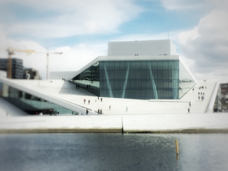 Oslo Opera House, photo credit Perry Argiropoulos ( perryja.com )