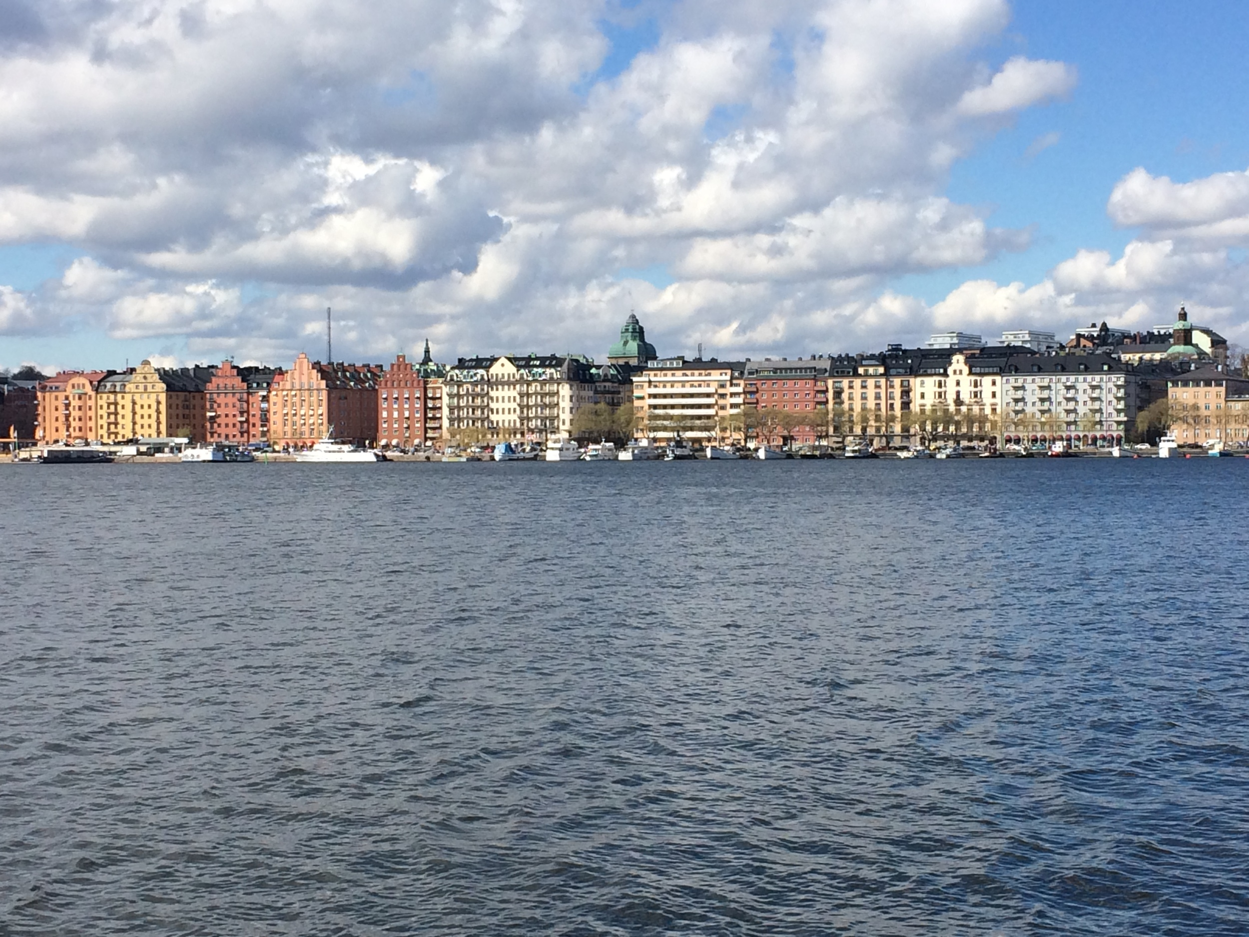 City view from Sodermalm