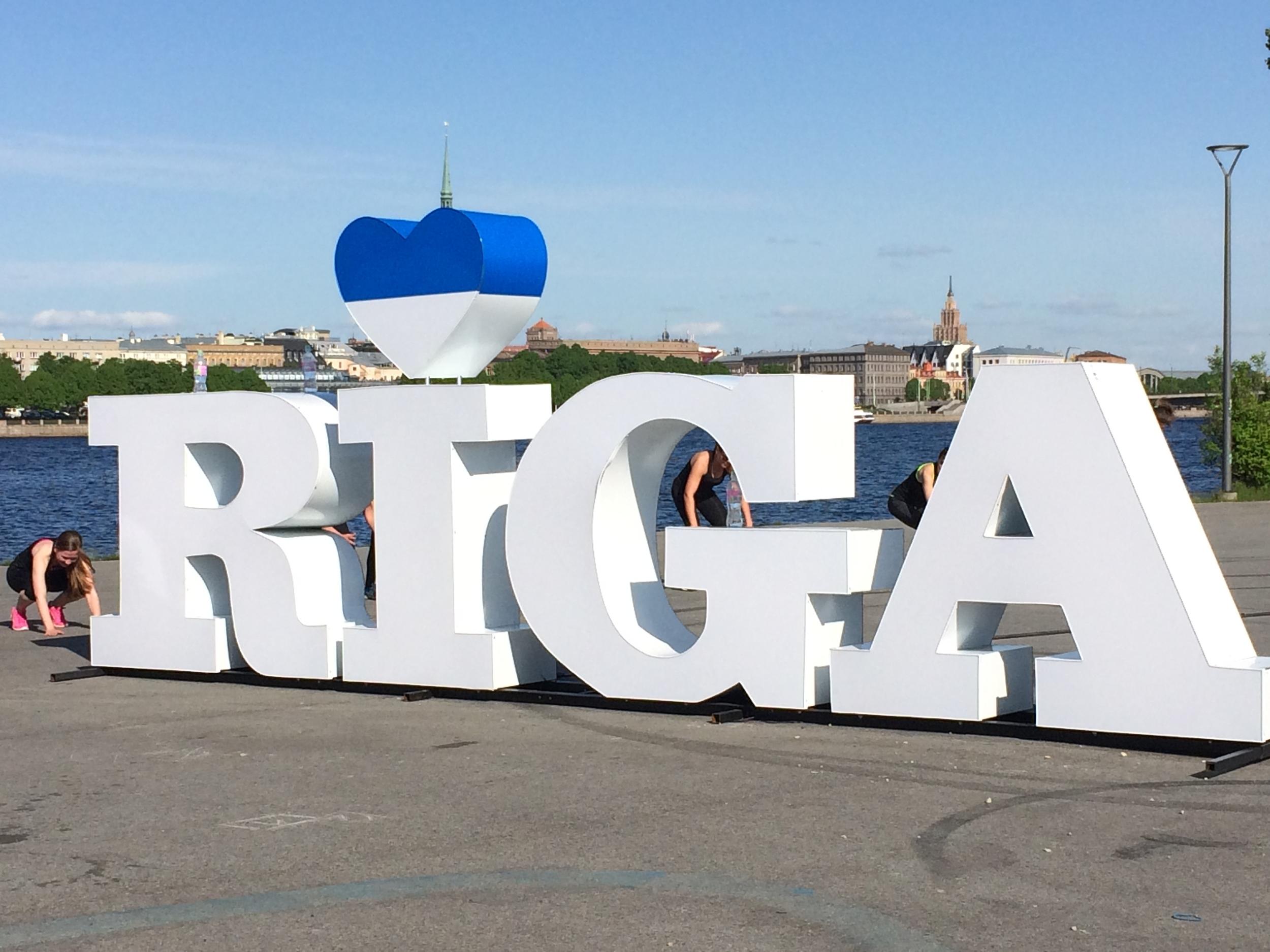 Crossfit enthusiasts heart Riga