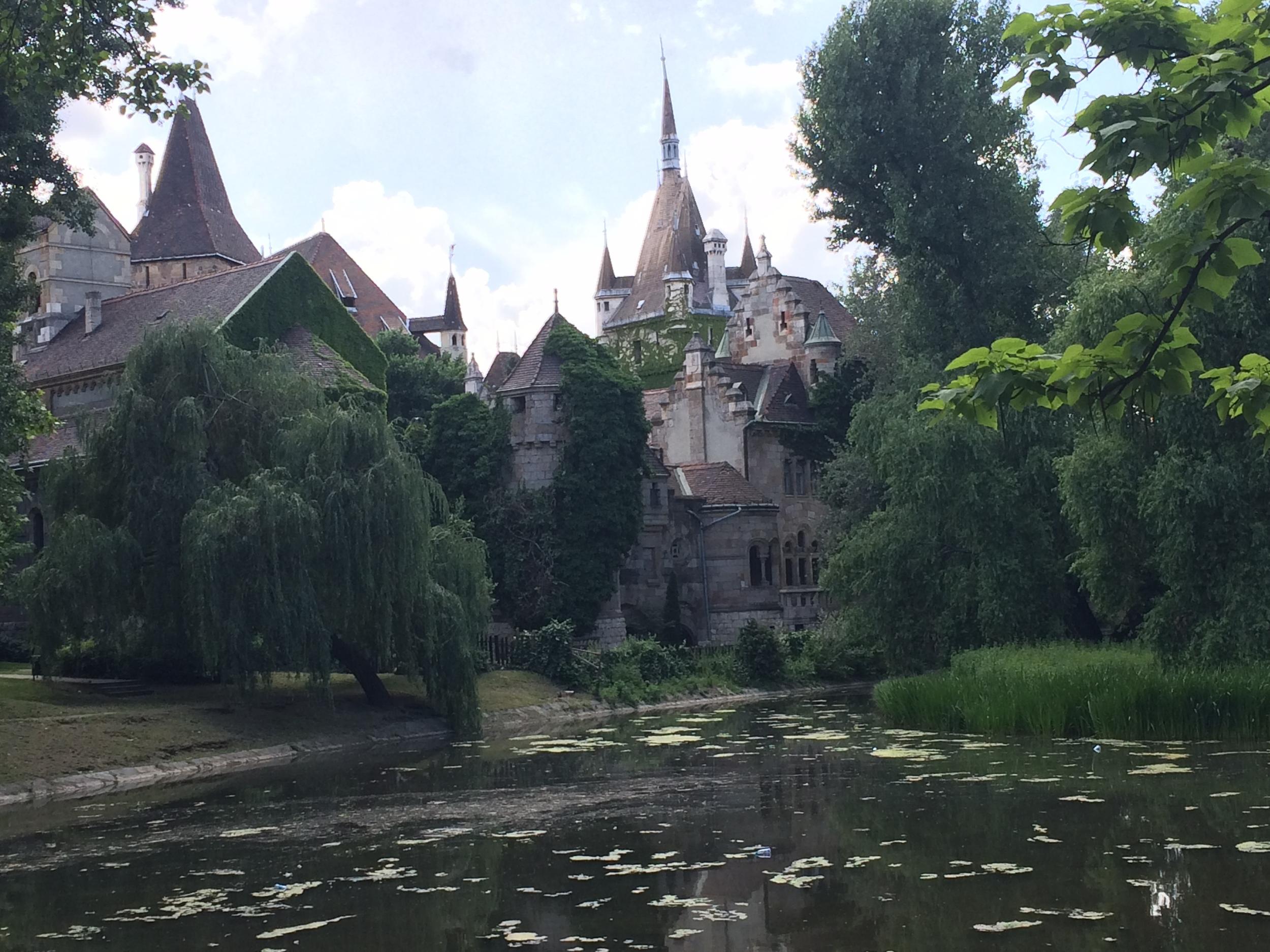 Varosliget Castle