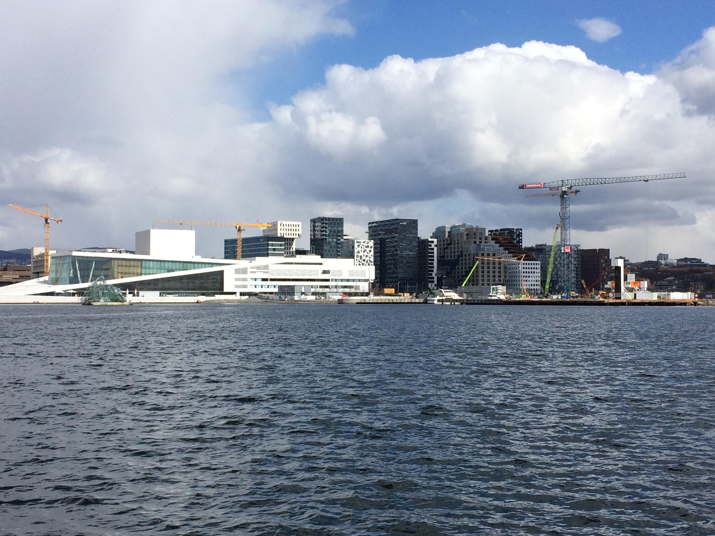 Oslo Opera House & Bar Code