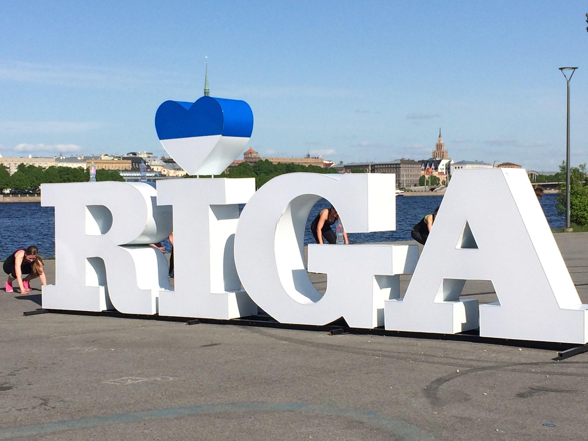 Crossfire enthusiasts heart Riga