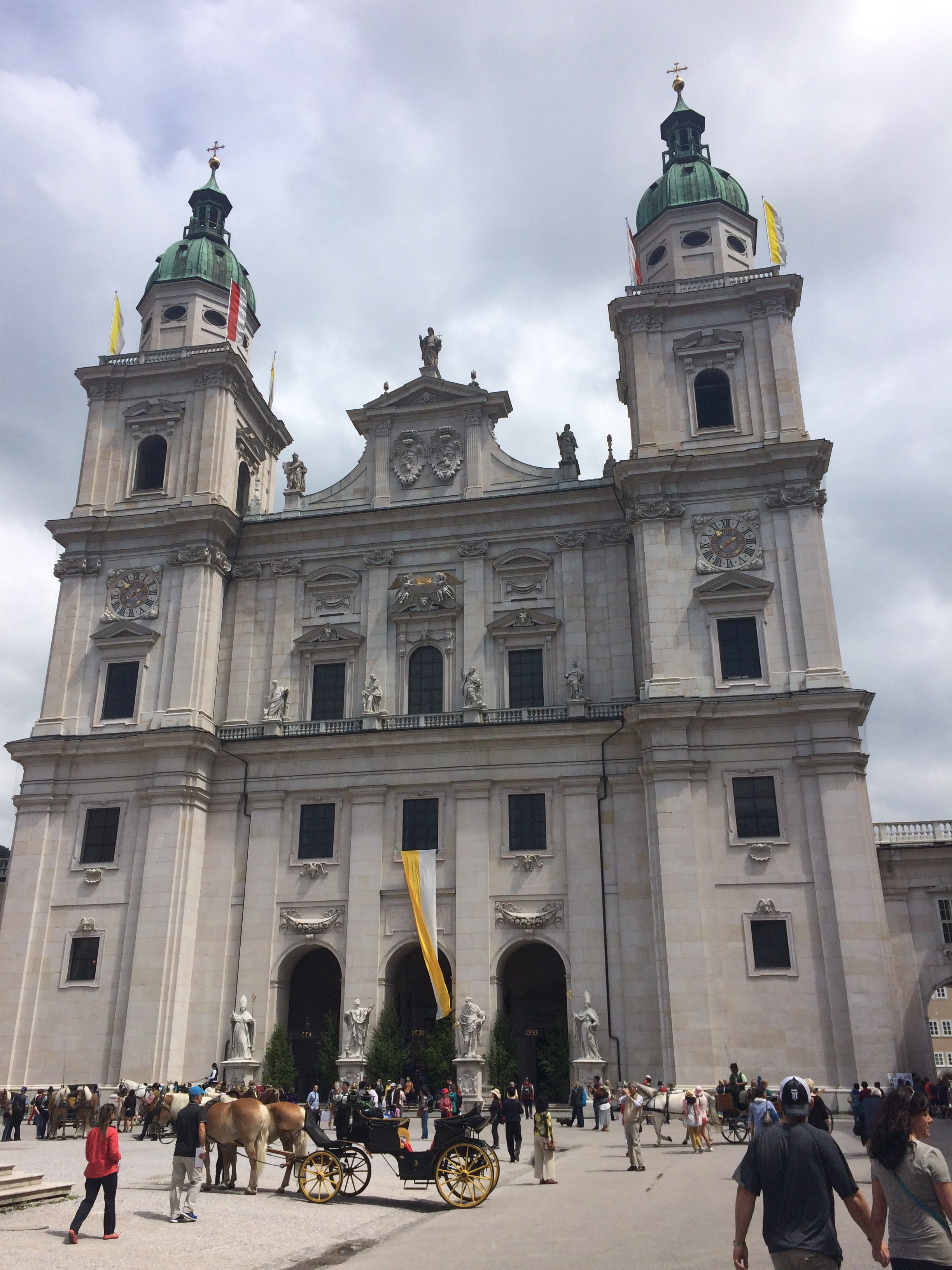 Salzburg Cathedral (not where they filmed the wedding scenes)