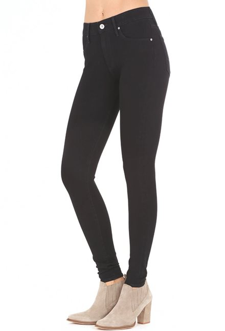 AG Farrah High Rise Skinny Jeans in Tarmac