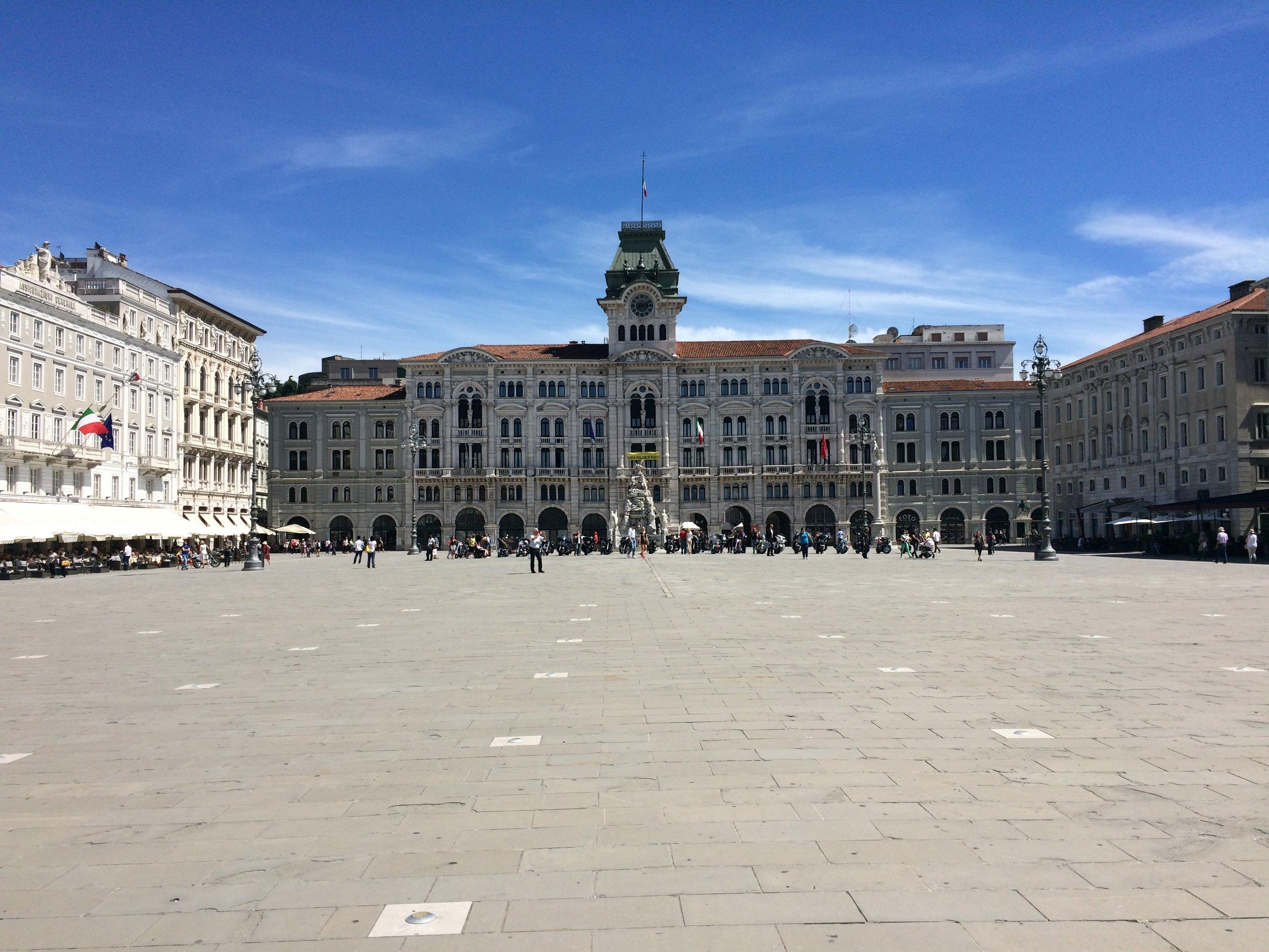 Main square Piazza Unita d'Italia
