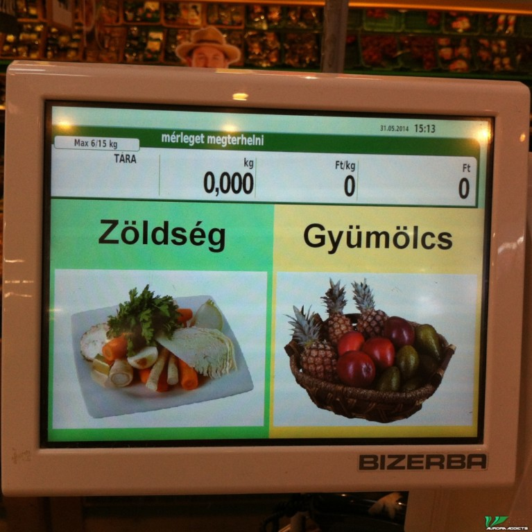 Don't forget to weigh your produce and print the sticker before heading to check out