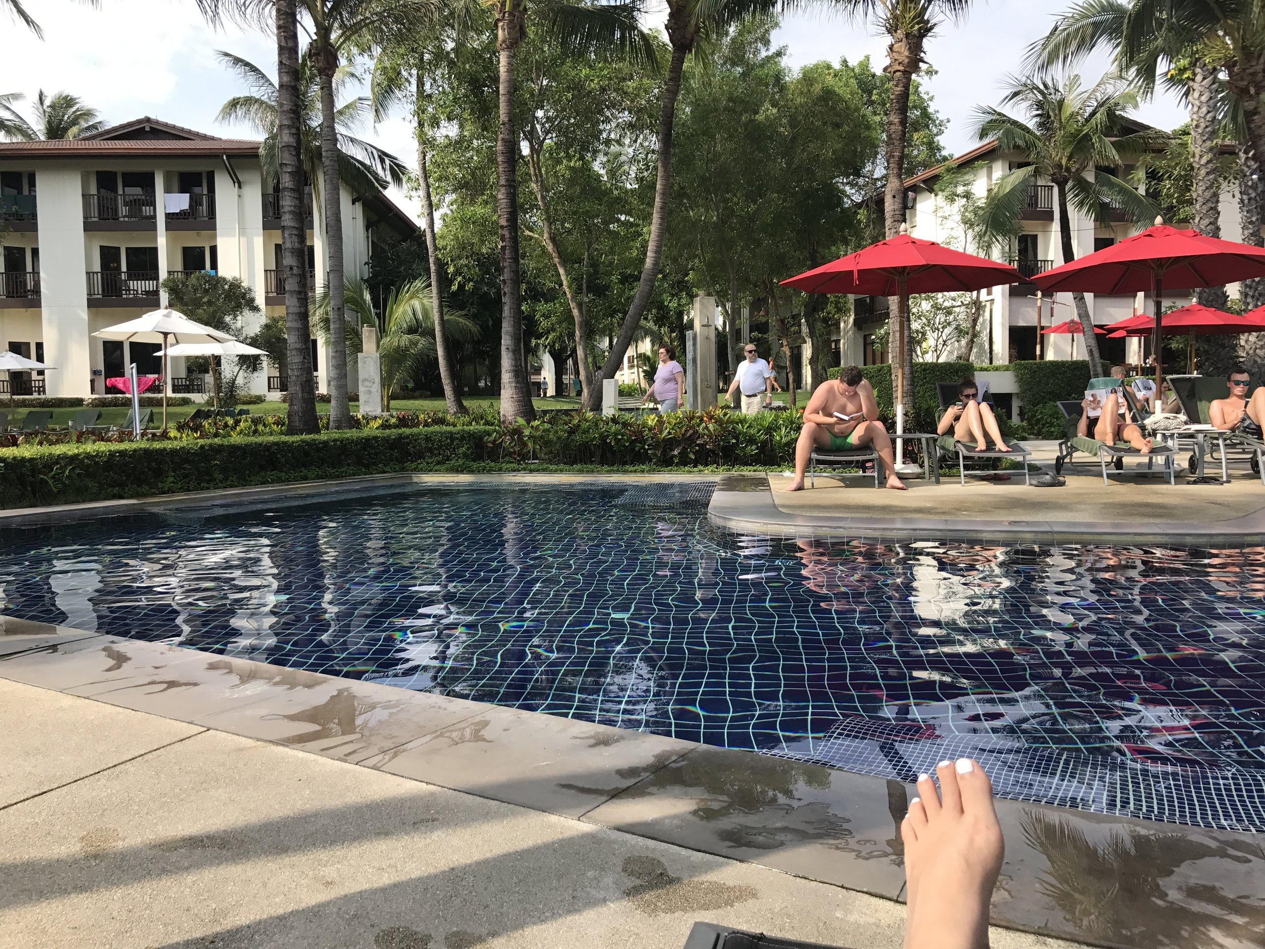 Pool at the Ibis Resort, Koh Samui.