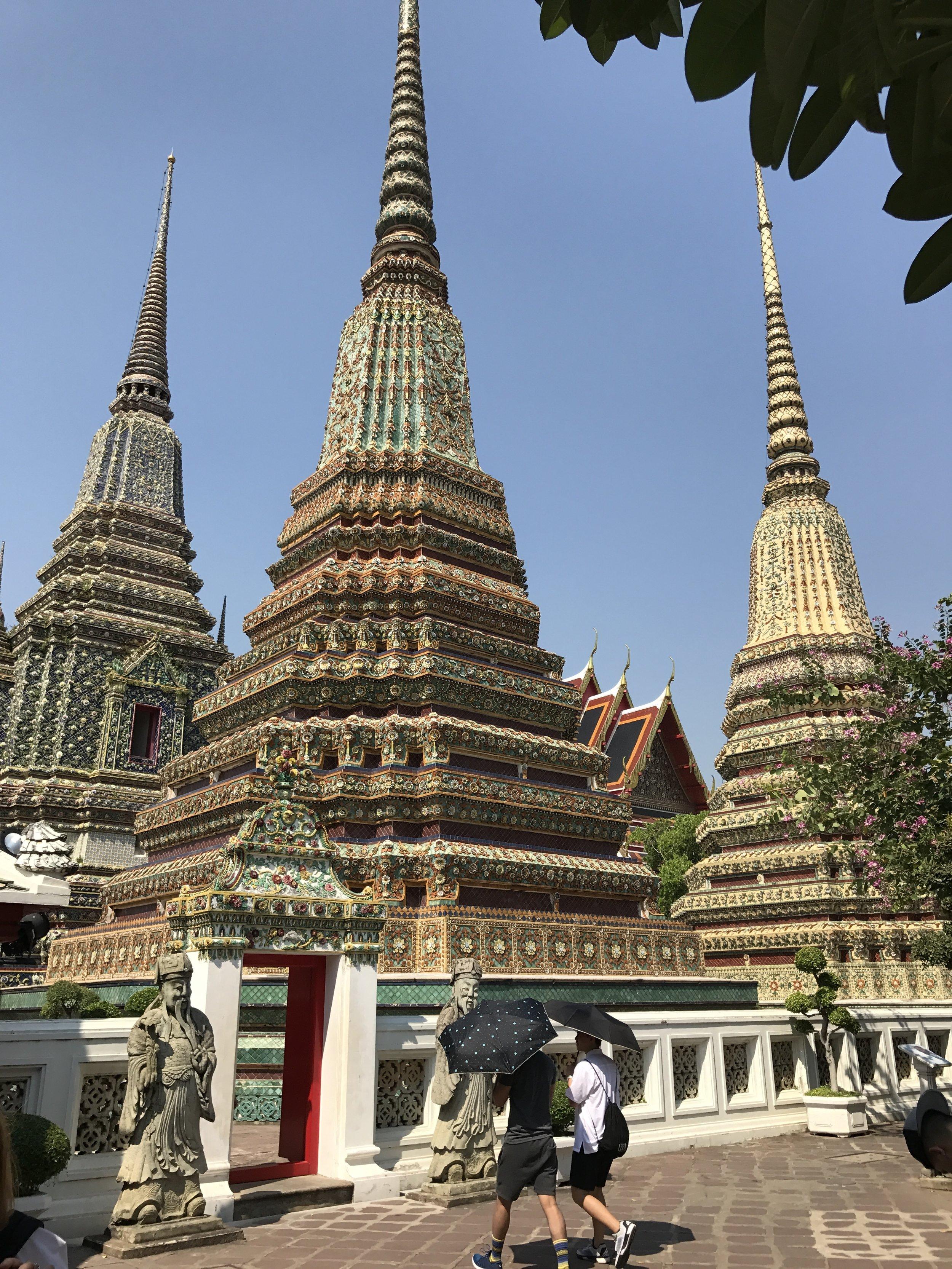 Wat Pho temple in Bangkok.
