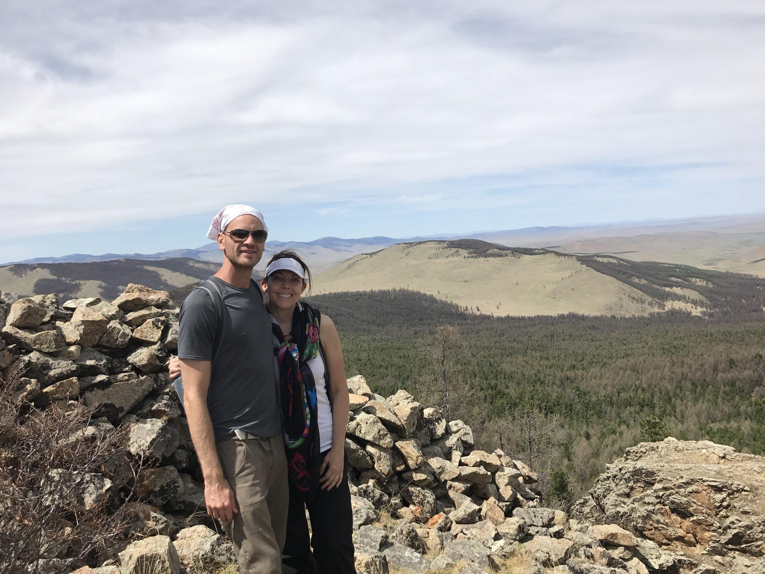 Feel like a hike up to a mountain top monastery?